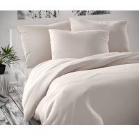 Saténové predľžené posteľné obliečky Luxury Collection biele 140x220, 70x90cm