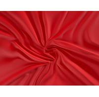 Saténová plachta LUXURY COLLECTION jednolôžko 100x200cm červená