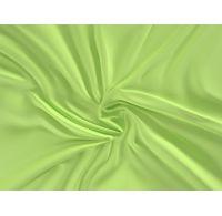 Saténová plachta LUXURY COLLECTION jednolôžko 100x200cm svetlo zelená