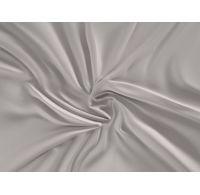 Saténová plachta LUXURY COLLECTION jednolôžko 100x200cm svetlo sivá