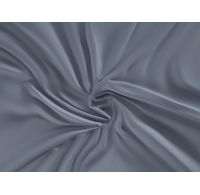 Saténová plachta LUXURY COLLECTION jednolôžko 100x200cm tmavo sivá