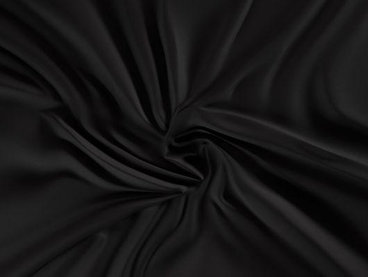 Saténová plachta LUXURY COLLECTION jednolôžko 120x200cm čierna
