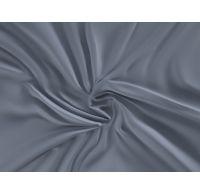 Saténová plachta LUXURY COLLECTION jednolôžko 140x200cm tmavo sivá