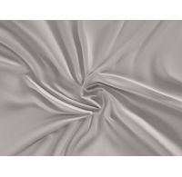 Saténová plachta LUXURY COLLECTION dvojlôžko 200x200cm svetlo sivá