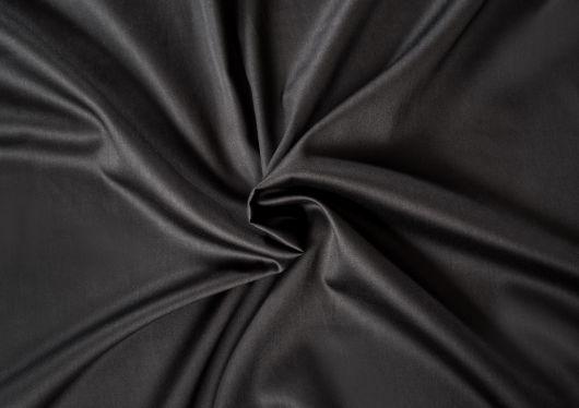Saténová plachta LUXURY COLLECTION jednolôžko 80x200cm čierna