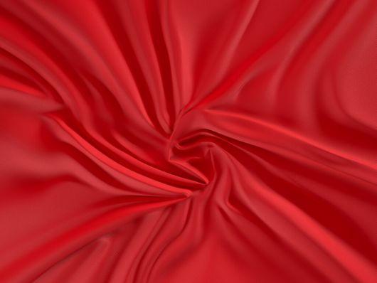 Saténová plachta LUXURY COLLECTION jednolôžko 80x200cm červená