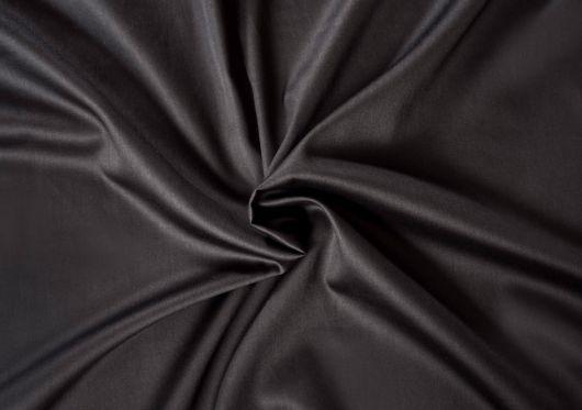 Saténová plachta LUXURY COLLECTION jednolôžko 90x200cm čierna