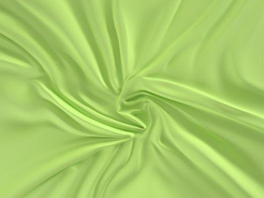 Saténová plachta LUXURY COLLECTION jednolôžko 90x200cm svetlo zelená
